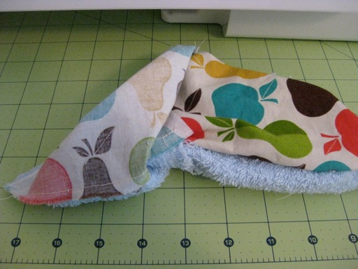 Sew and flip