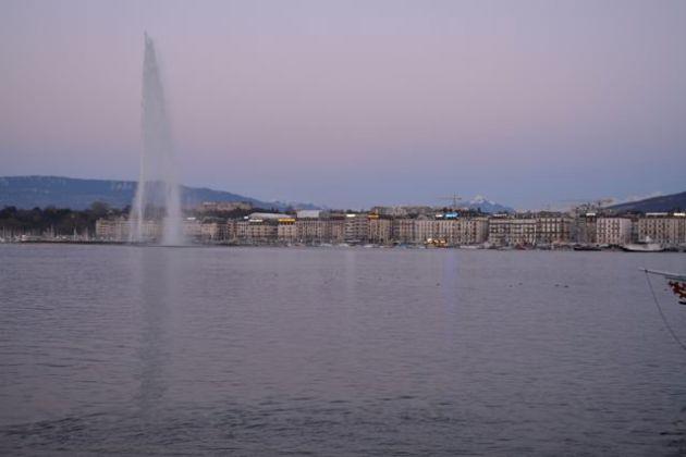 The Water Fountain of Geneva
