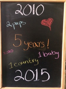5 amazing years!